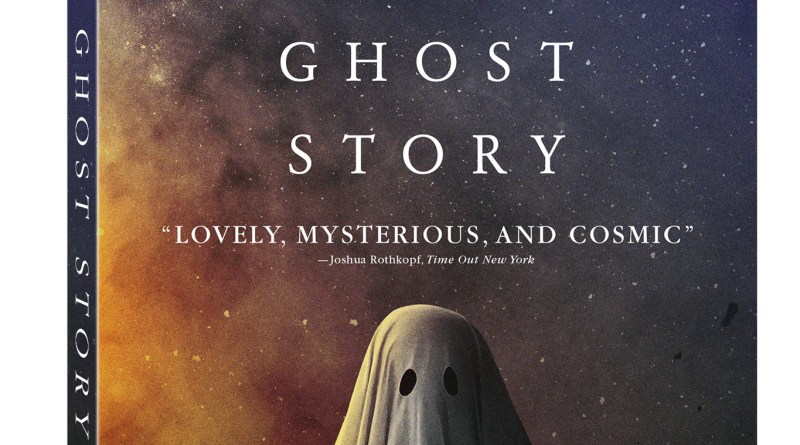 A Ghost Story Blu-Ray/DVD/Digital HD cover (Lionsgate Home Entertainment/A24 Films)