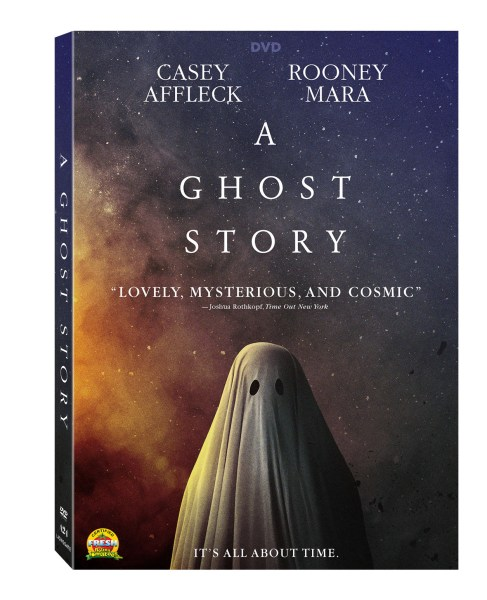 A Ghost Story DVD cover (Lionsgate Home Entertainment/A24 Films)