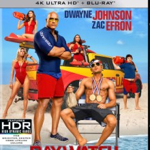 Baywatch 4K Ultra HD cover (Paramount Pictures)
