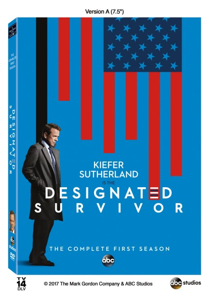 Designated Survivor DVD Season One cover (ABC)