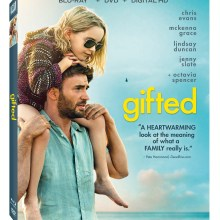 Gifted Blu-Ray/DVD/Digital HD combo cover (20th Century Fox)