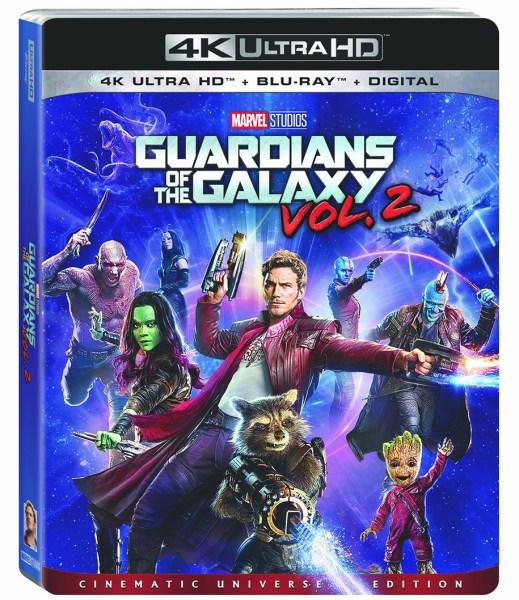 Guardians Of The Galaxy Vol. 2 (Marvel/Walt Disney Studios Home Entertainment)
