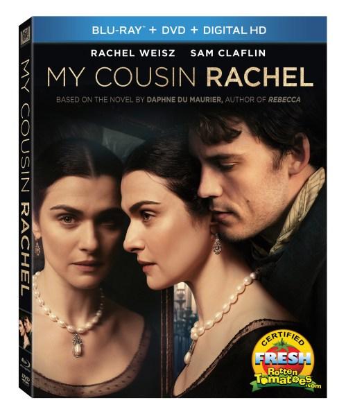My Cousin Rachel (Blu-Ray/DVD/Digital HD combo)  (20th Century Fox Home Entertainment)