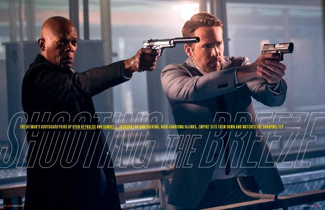 Empire Magazine The Hitman's Bodyguard still