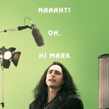 The Disaster Artist poster (New Line Cinema/Good Universe/A24)