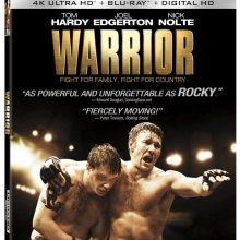 Warrior 4K Ultra HD/Blu-Ray/Digital HD cover (Lionsgate Home Entertainment)