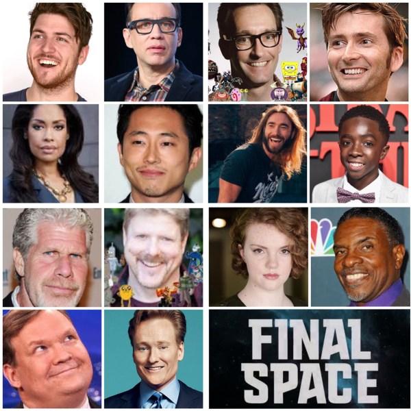 Final Space cast announcement (TBS)