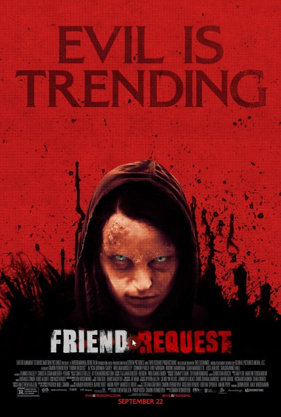 Friend Request poster (Entertainment Studios Motion Pictures)