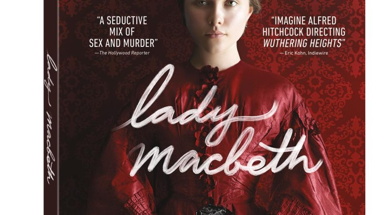 Lady Macbeth DVD cover (Lionsgate Home Entertainment)