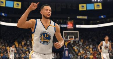 Steph Curry from NBA Live '18 (EA Sports)