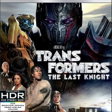 Transformers: The Last Knight 4K Ultra HD/Blu-Ray/Digital HD combo cover (Paramount)
