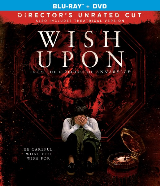 Wish Upon Blu-Ray/DVD (Broadgreen Pictures)