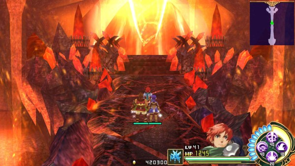 Ys Seven screenshot (XSEED Games)