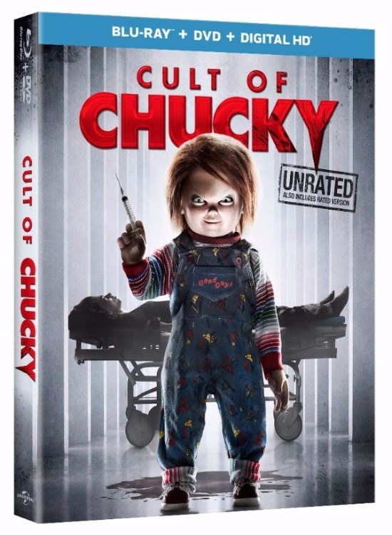 Cult Of Chucky cover (Universal Pictures Home Entertainment)