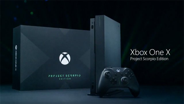 Xbox One X Project Scorpio Edition Trailer