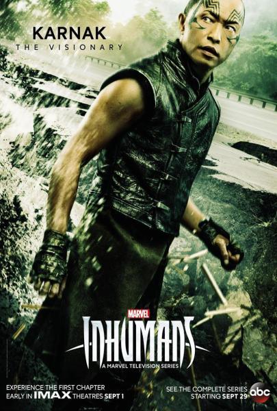 Marvel's Inhumans Karnak poster (Marvel Studios/ABC)