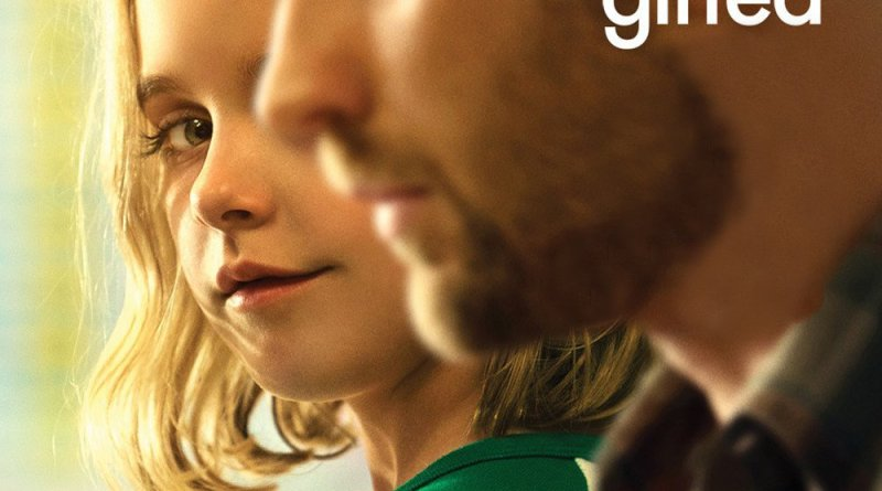 """Poster for the movie """"Gifted"""""""
