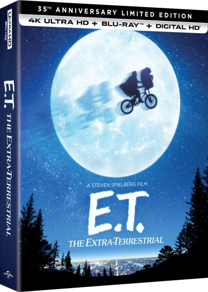 E.T. The Extra-Terrestrial 35th Anniversary Edition 4K Ultra HD/Blu-Ray/Digital HD (Universal Pictures Home Entertainment)