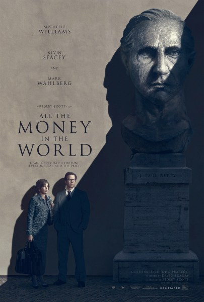 All The Money In The World poster (TriStar Pictures/Sony Pictures)