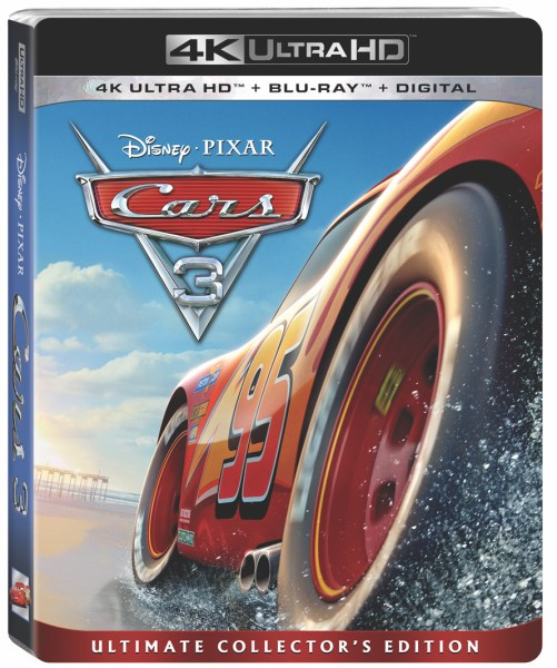 Cars 3 4K Ultra HD/Blu-Ray/Digital HD (Walt Disney Studios Home Entertainment)
