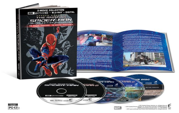 The Spider-Man Limited Edition 3-Movie Collection 4K Ultra HD/Blu-Ray/Digital HD (Sony Pictures Home Entertainment)