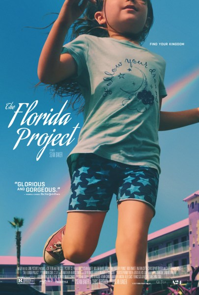 The Florida Project poster (A24 Films)