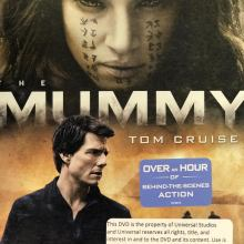 The Mummy Blu-Ray/DVD/Digital HD combo pack (Universal Pictures Home Entertainment)