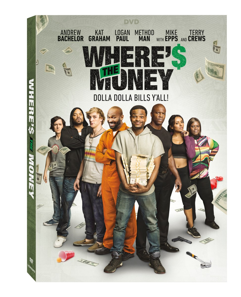 Where's The Money Home Release Info