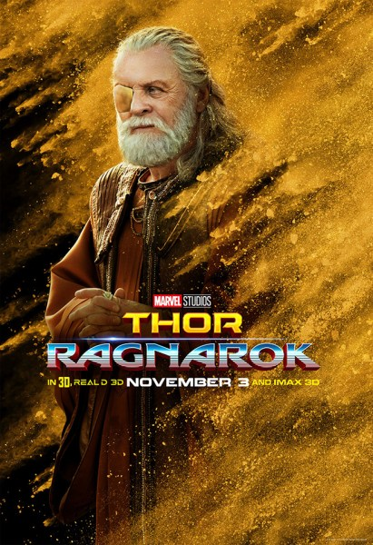 Sir Anthony Hopkins as Odin (Marvel Studios)