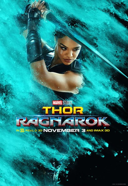 Tessa Thompson as Valkyrie (Marvel Studios)