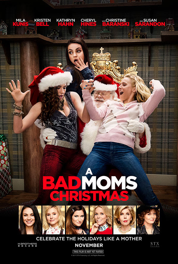 New A Bad Moms Christmas Footage Released