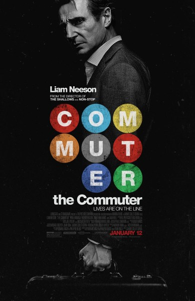 The Commuter poster (Lionsgate)