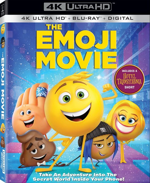 The EMOJI Movie 4K Ultra HD/Blu-Ray/Digital HD (Sony Pictures Home Entertainment)