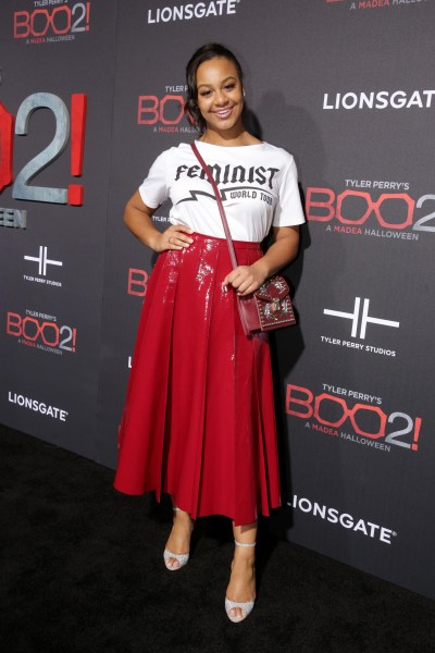 Lionsgate World Premiere of Tyler Perry's 'Boo 2! A Madea Halloween' at LA LIVE Regal Cinemas, Los Angeles, CA, USA - 16 October 2017