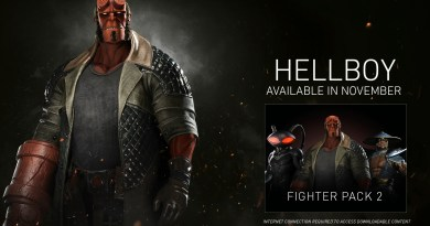 Hellboy from Injustie 2 Fighter Pack 2 DLC (Warner Bros. Interactive Gaming)