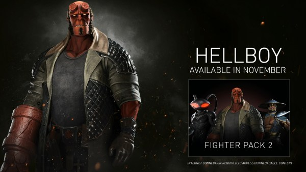 Hellboy from Injustie 2 Fighter Pack 2 DLC (Warner Bros. Interactive Gaming)