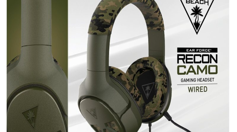 Turtle Beach Recon Camo Multiplatform Gaming Headset