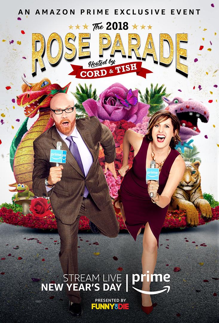 Amazon Prime's Rose Parade Live