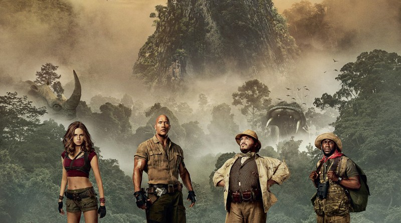 Jumanji: Welcome To The Jungle character poster (Sony Pictures)
