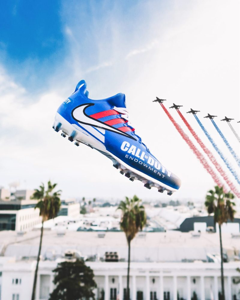 Call Of Duty Endowment NFL My Cause, My Cleats (photo cred: Ray Polanco Jr.)