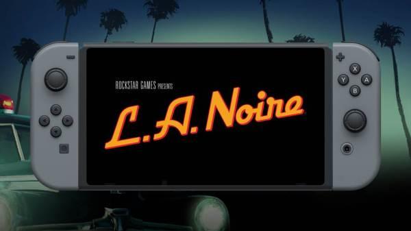L.A. Noir Nintendo Switch (Rockstar Games)