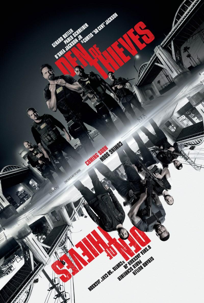 Den Of Thieves poster (STX Films/STX Entertainment)