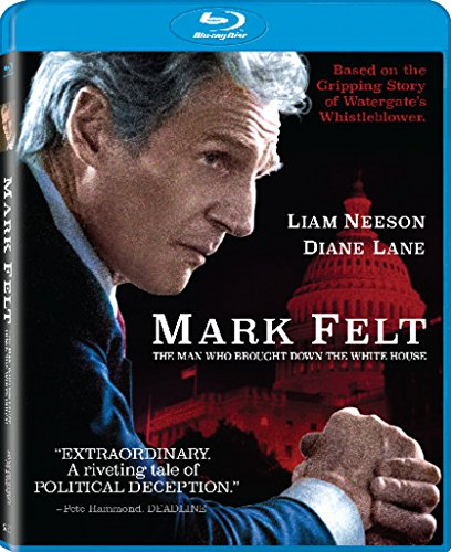 Mark Felt: The Man Who Brought Down The White House Blu-Ray combo cover (Sony Pictures Home Entertainment)