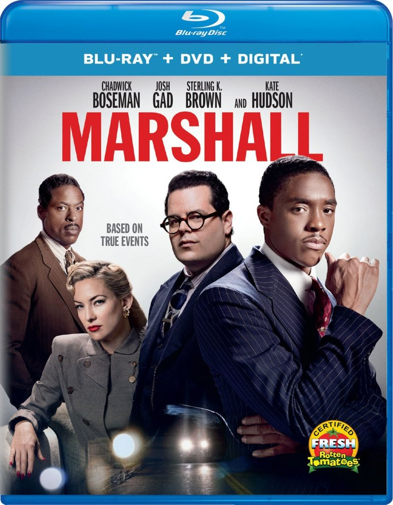 Marshal Blu-Ray Combo cover (Universal Pictures Home Entertainment)