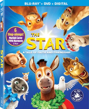 The Star Blu-Ray Combo cover (Sony Pictures)