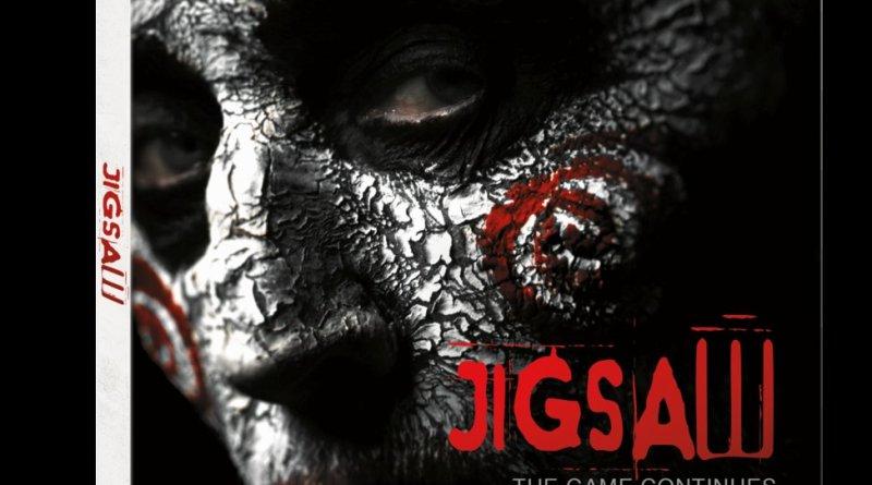 Jigsaw DVD cover (Lionsgate Home Entertainment)