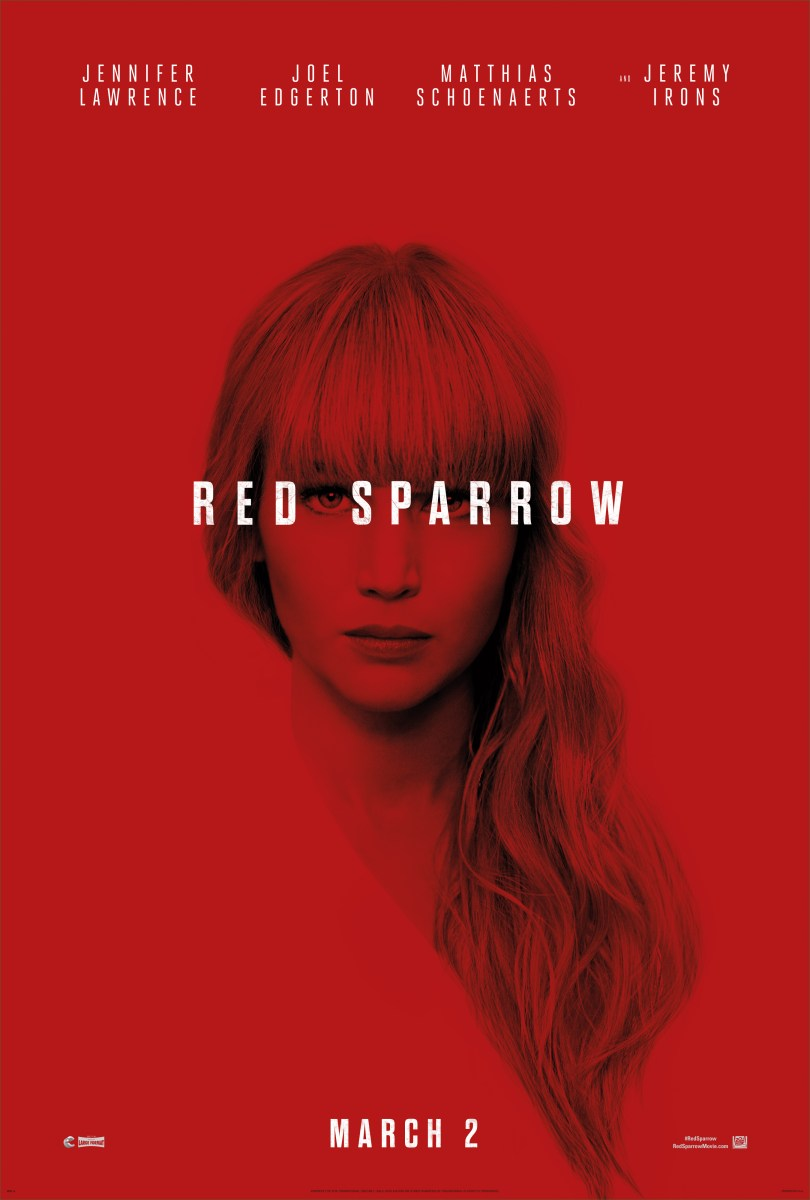 New Red Sparrow Footage Released