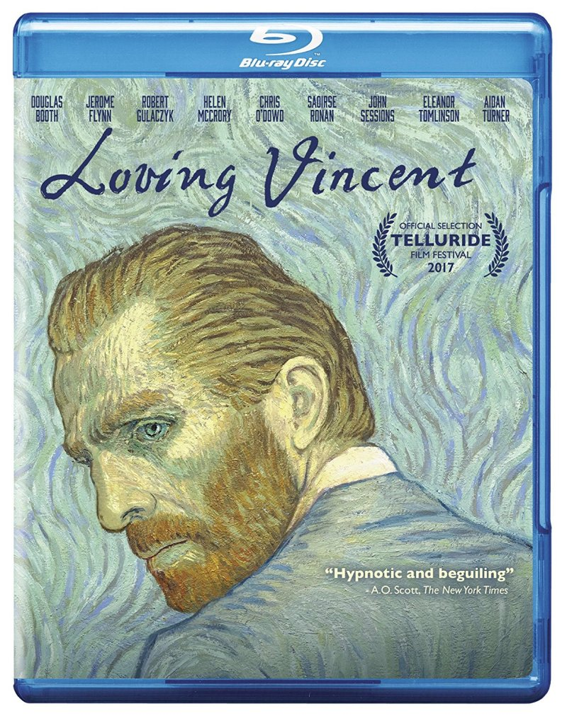 Loving Vincent Blu-Ray Combo cover