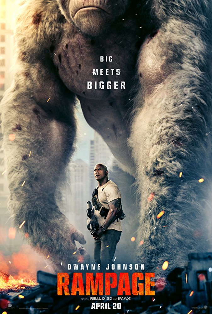 Rampage poster (Warner Bros. Pictures)