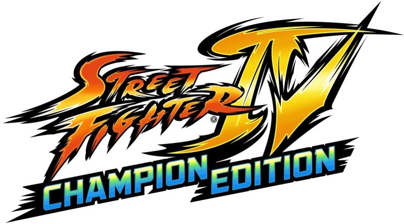 Street Fighter IV: Champion Edition logo (Capcom)